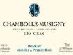 Domaine Michèle & Patrice Rion Chambolle-Musigny Premier Cru Les Cras - label