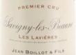 Domaine Henri (ex Jean) Boillot Savigny-lès-Beaune Premier Cru Les Lavières - label