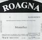 Roagna Barbaresco Montefico Vecchie Viti - label