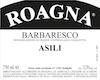 Roagna Barbaresco Asili Vecchie Viti - label