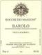 Rocche Dei Manzoni Barolo Vigna d'la Roul - label