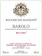 Rocche Dei Manzoni Barolo Big'd Big - label