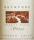 Rockford Basket Press Shiraz - label