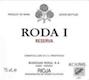 Bodegas Roda Rioja Roda I Reserva - label
