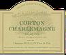 Domaine (Remi) Rollin Père et Fils Corton-Charlemagne Grand Cru  - label