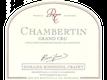 Domaine Rossignol-Trapet Chambertin Grand Cru  - label