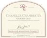 Domaine Rossignol-Trapet Chapelle-Chambertin Grand Cru  - label