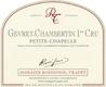 Domaine Rossignol-Trapet Gevrey-Chambertin Premier Cru Petite Chapelle - label