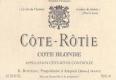 René Rostaing Côte Rôtie Côte Blonde - label