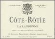 René Rostaing Côte Rôtie La Landonne - label
