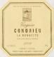 René Rostaing Condrieu La Bonnette - label