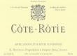 René Rostaing Côte Rôtie  - label