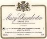 Domaine Joseph Roty Mazis-Chambertin Grand Cru  - label