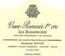 Emmanuel Rouget Vosne-Romanée Premier Cru Les Beaux Monts - label