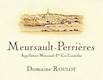 Domaine Roulot Meursault Premier Cru Perrières - label
