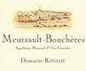 Domaine Roulot Meursault Premier Cru Les Bouchères - label