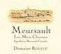 Domaine Roulot Meursault Meix Chavaux - label