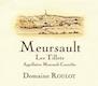 Domaine Roulot Meursault Les Tillets - label