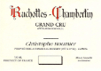 Domaine Georges (or Christophe) Roumier Ruchottes-Chambertin Grand Cru  - label