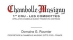 Domaine Georges (or Christophe) Roumier Chambolle-Musigny Premier Cru Les Combottes - label