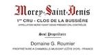 Domaine Georges (or Christophe) Roumier Morey-Saint-Denis Premier Cru Clos de la Bussière - label