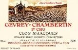 Domaine Armand Rousseau Gevrey-Chambertin Premier Cru Clos Saint-Jacques - label