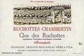 Domaine Armand Rousseau Ruchottes-Chambertin Grand Cru Clos des Ruchottes - label