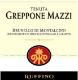 Tenuta Greppone Mazzi Brunello di Montalcino  - label