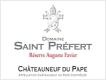 Domaine Saint-Préfert Châteauneuf-du-Pape Réserve Auguste Favier - label