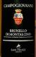 Campogiovanni Brunello di Montalcino  - label