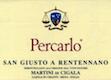 San Giusto a Rentennano Percarlo - label