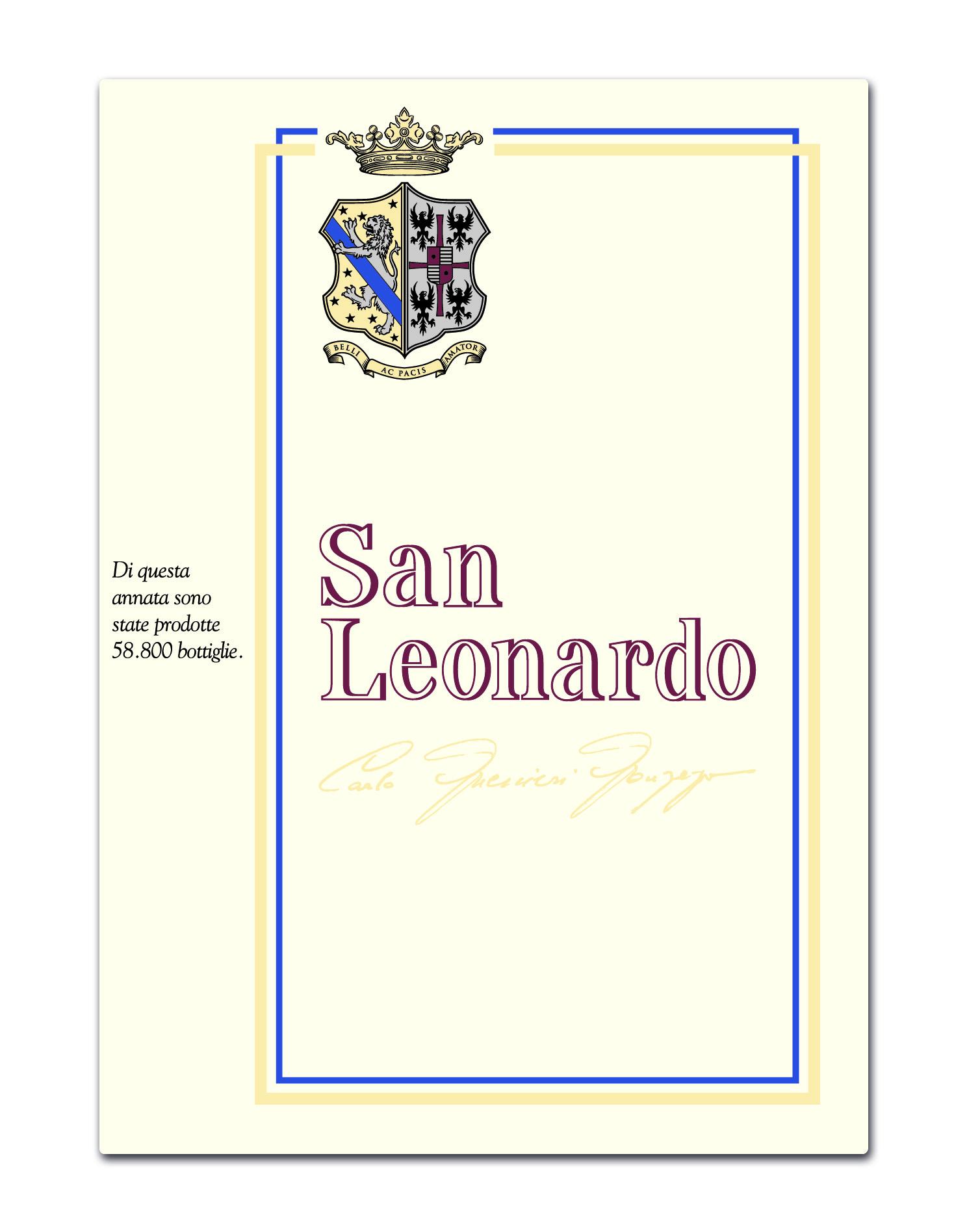 San Leonardo  - label