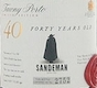 Sandeman Porto  40 Year Old Tawny Port - label