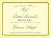 Étienne Sauzet Bâtard-Montrachet Grand Cru  - label