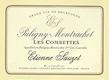 Étienne Sauzet Puligny-Montrachet Premier Cru Les Combettes - label