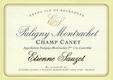 Étienne Sauzet Puligny-Montrachet Premier Cru Champ Canet - label
