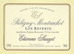 Étienne Sauzet Puligny-Montrachet Premier Cru Les Referts - label