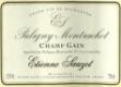 Étienne Sauzet Puligny-Montrachet Premier Cru Champ Gain - label