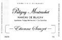 Étienne Sauzet Puligny-Montrachet Premier Cru Hameau de Blagny - label