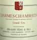 Domaine Sérafin Père et Fils Charmes-Chambertin Grand Cru  - label