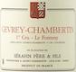 Domaine Sérafin Père et Fils Gevrey-Chambertin Premier Cru Le Fonteny - label