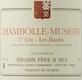 Domaine Sérafin Père et Fils Chambolle-Musigny Premier Cru Les Baudes - label