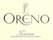 Tenuta Sette Ponti Oreno - label