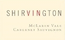 Shirvington Cabernet Sauvignon - label