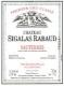 Château Sigalas-Rabaud  Premier Cru - label