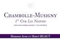 Domaine Sigaut Chambolle-Musigny Premier Cru Les Noirots - label