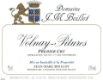 Domaine Jean-Marc Boillot Volnay Premier Cru Les Pitures - label
