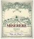 Costers del Siurana Miserere - label