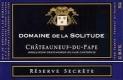Domaine de la Solitude Châteauneuf-du-Pape Réserve Secrète - label