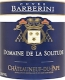 Domaine de la Solitude Châteauneuf-du-Pape Cuvée Barberini - label